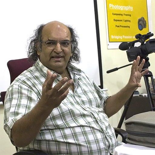 Prof. Prashant Desai Filmmaking