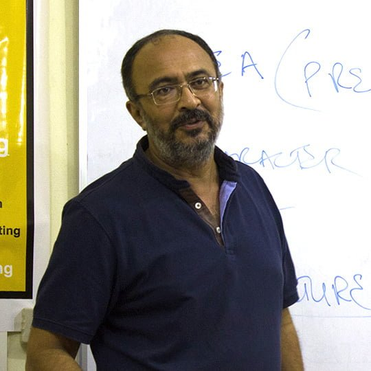 Anjum Rajabali Screenwriter