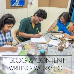 Blog and Content Writing Workshop Pune