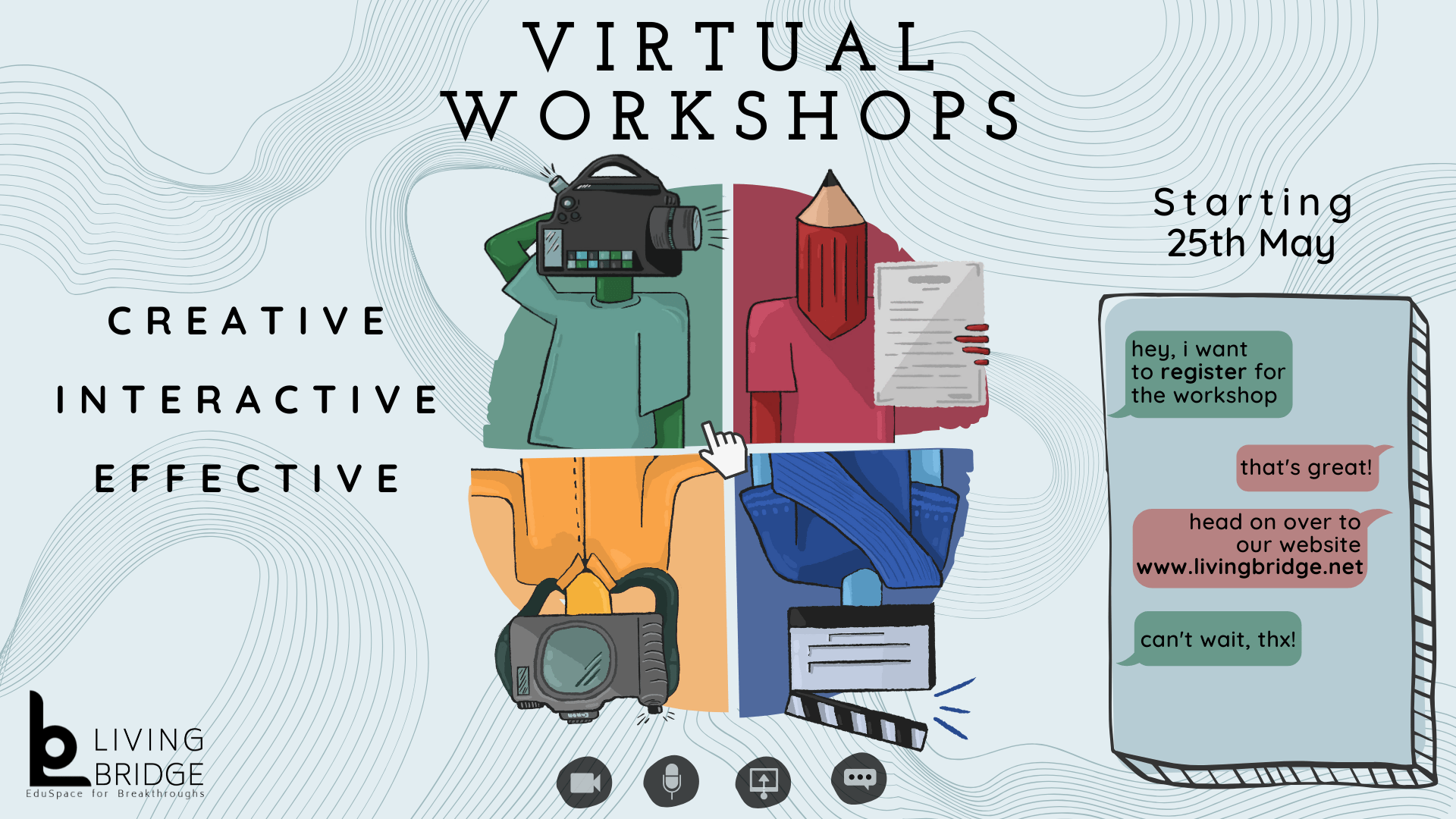 Virtual Workshops Courses Online