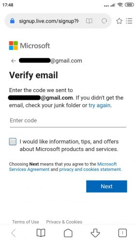 Img 4: Email Verification. m